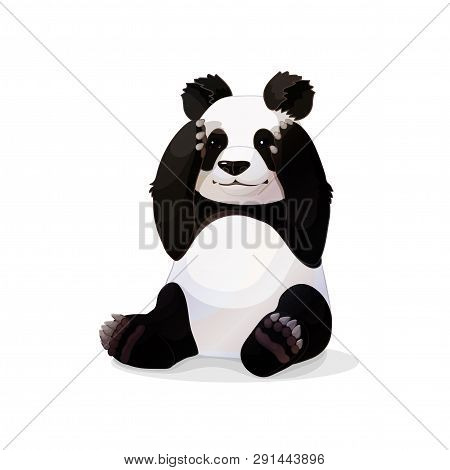 Vector Cartoon Animal Clipart Sitting