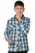 Fashion Pensive Teen
