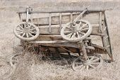 picture of vinnitsa  - Old Russian horse cart - JPG