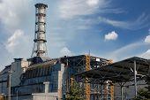 Usina nuclear de Chernobyl. Região de Kiev. Ucrânia.