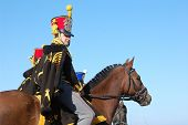 Russian Hussar. Kiev's Hussar Regiment. Crimean War time