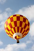 Colored Hot Air Balloon