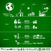 image of sustainable development  - Connect to renewable energy  - JPG