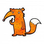cartoon unsure fox