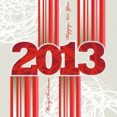 2013 Christmas and New Year greeting card.