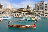 Traditional Maltese Boat