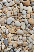 Weathered Stones On A Beach
