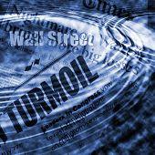Crisis de Wall Street - imagen de concepto