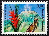 Postage Stamp France 1997 Guadeloupe National Park