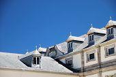 Classic mansard roofing