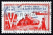 Postage Stamp France 1954 Allied Landings