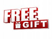 pic of free-trade  - free gift and present box symbol  - JPG