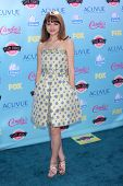 LOS ANGELES - AUG 11:  Joey King at the 2013 Teen Choice Awards at the Gibson Ampitheater Universal