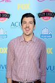 LOS ANGELES - AUG 11:  Christopher Mintz-Plasse at the 2013 Teen Choice Awards at the Gibson Ampithe