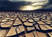 foto of drought  - drought land - JPG