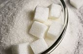 Refined white sugar