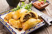empanadas with ground meat