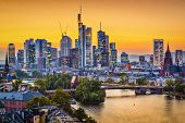 Frankfurt, Germany Skyline