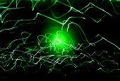 Green Misty Light