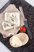 French Blue Cheese And Bread Roll