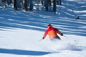 people on the ski slopes in