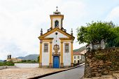 Churches In Ouro Preto Brazil