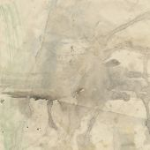 art abstract watercolor beige and light grey background