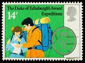 Britain Duke Of Edinburgh Scheme Postage Stamp