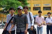 Vietnamese High School Student