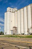 Tall Grain Elevators