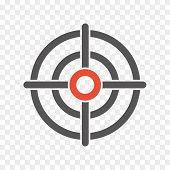 foto of crosshair  - circle crosshair icon sign - JPG