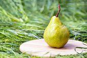 Juicy flavorful pear