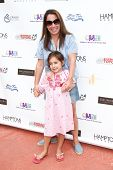 BRIDGEHAMPTON, NY-JUL 19: Hamptons magazine Editor-in-Chief Samantha Yanks & daughter Sadie attend t