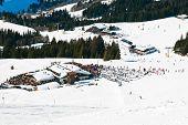 Mountain Village In Saalbach Hinterglemm Region