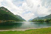 View Of Lake Lago D Idro, Italy