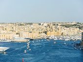 Skyline Of Valletta City, Malta