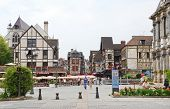 Central Square In Town Troyes, France