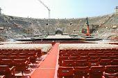 Interior Of Amphitheater Of Verona Opera Arena