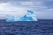 Iceberg Sphynx In Antarctica