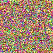 Multicolor seamless cubic texture. Vector. Random.