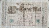 Постер, плакат: Старинный немецкий банкноты 1910
