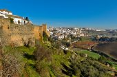 The town of Ronda in Andalusia, Spain