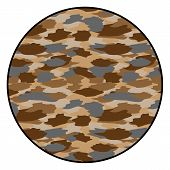 Camouflage Button
