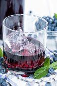 Blueberry Liqueur Shot