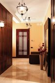 stock photo of anteroom  - Vestibule in a house - JPG