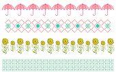 Pretty pattern elements