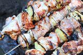 Shish kebab, DOF
