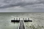 Berth On The Afsluitdijk.