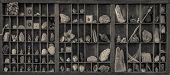 Curiosities Cabinet Sepia