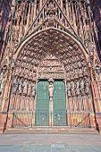 Strasbourg Cathedral Entrance